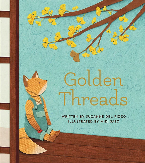 Golden Threads cover Suzanne Del Rizzo Miki Sato