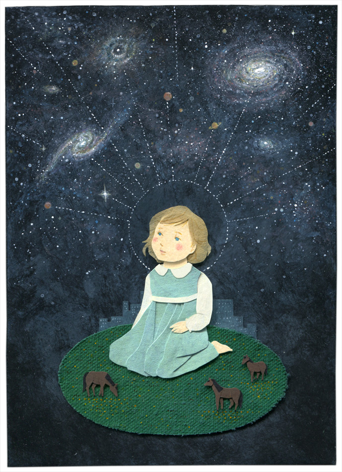 Galactic Thoughts Illustration by Miki Sato