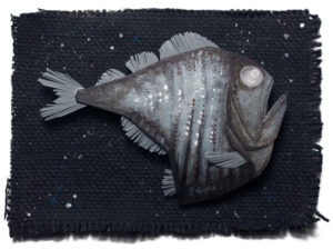Deep Sea Hatchetfish Illustration by Miki Sato