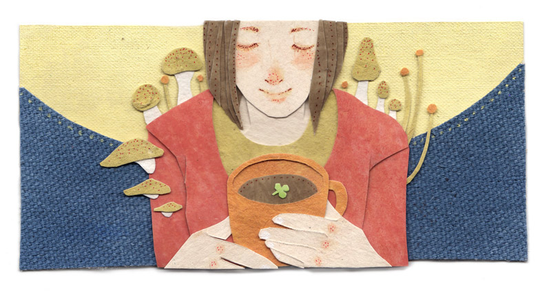 Natural Brew Illustration by Miki Sato