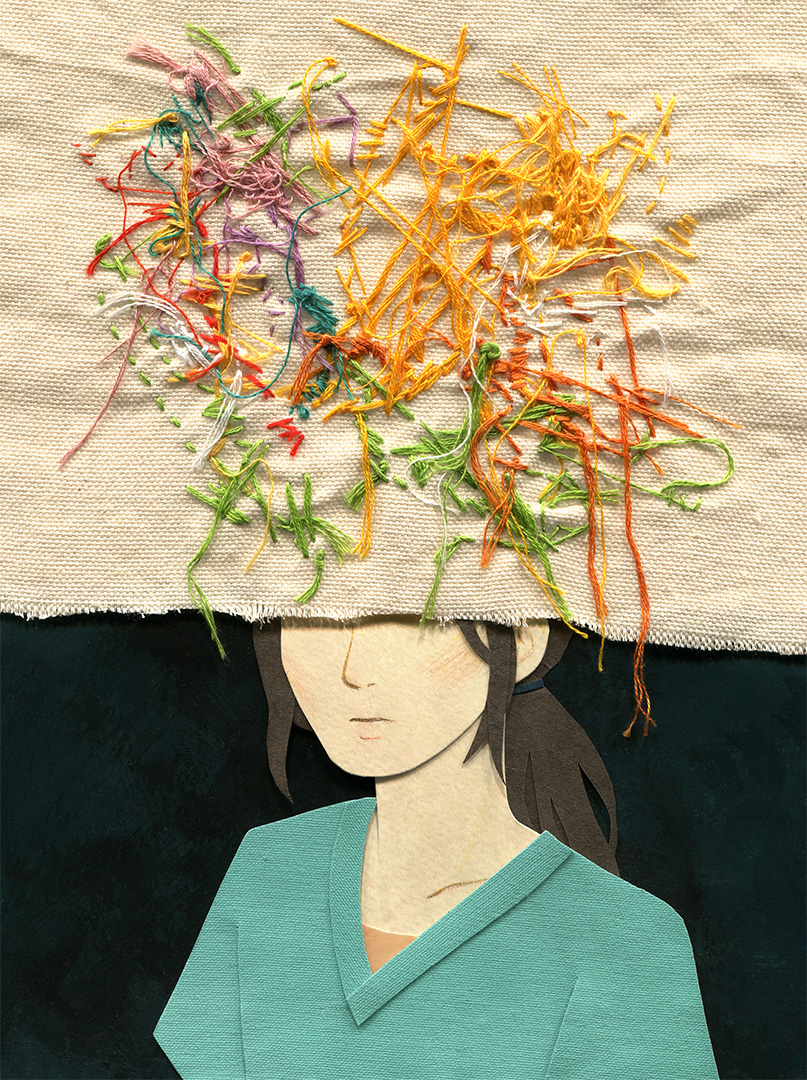 This - Needles Illustration by Miki Sato