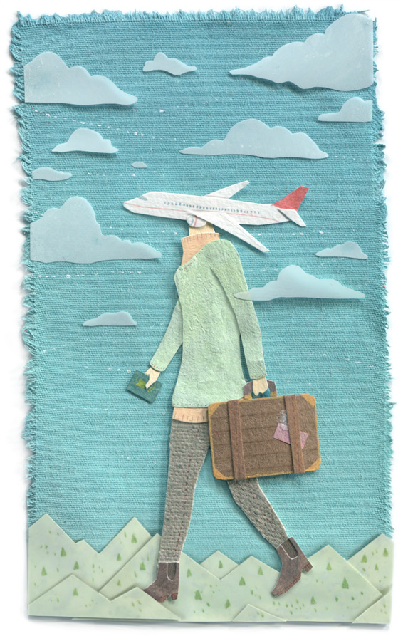 Travel Illustration by Miki Sato