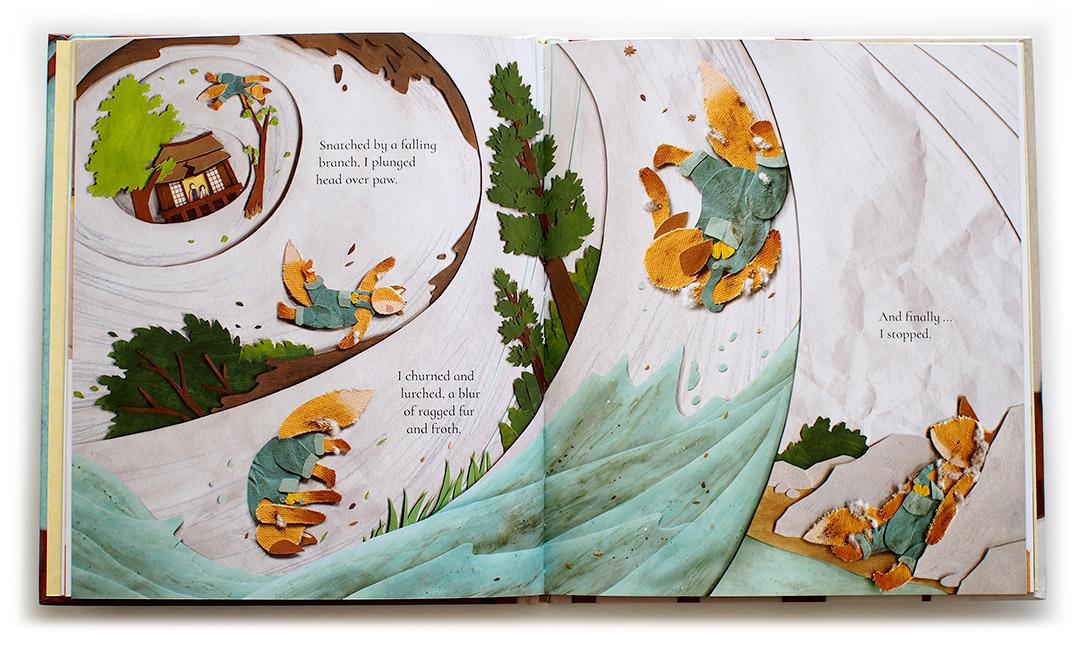 Golden Threads - interior 2 - Suzanne Del Rizzo Miki Sato