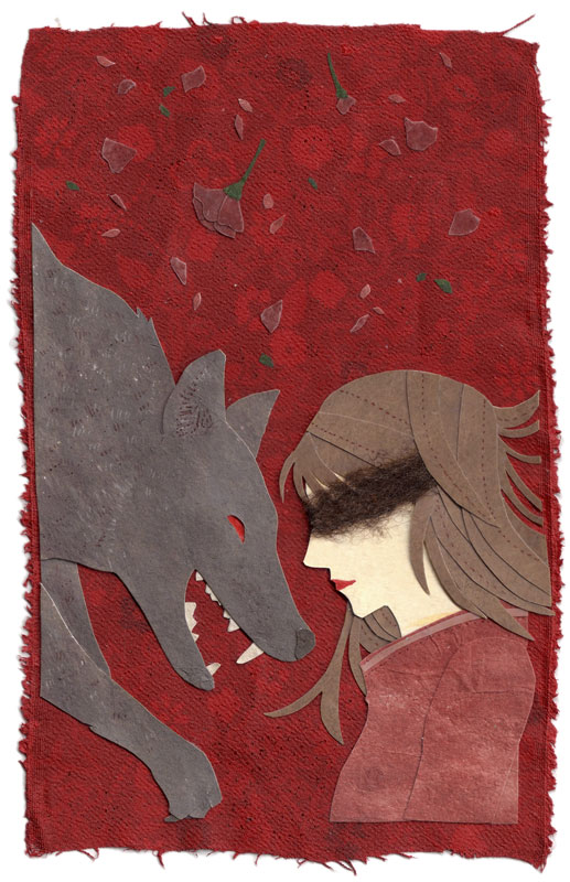 A Little Red illustration by Miki Sato