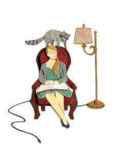 Emily Graslie - The Brain Scoop Illustration by Miki Sato
