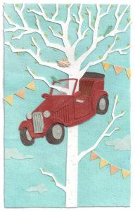 Car Crash illustration by Miki Sato