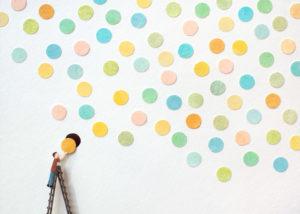 Dots Illustration by Miki Sato