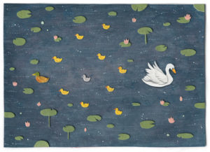 The Duckling Illustration by Miki Sato