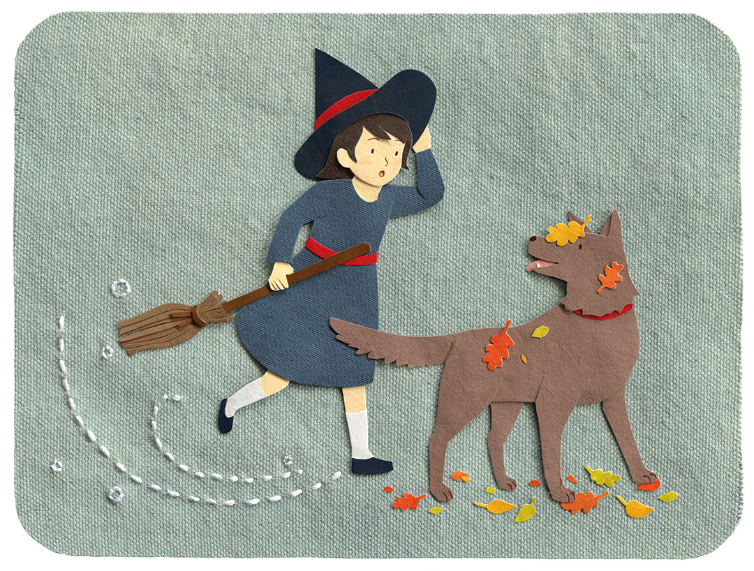 Little Witch Illustration by Miki Sato