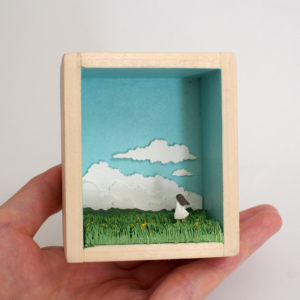 Field Shadowbox illustration by Miki Sato