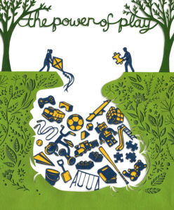 Today's Parent - The Power of Play (full page) Illustration by Miki Sato