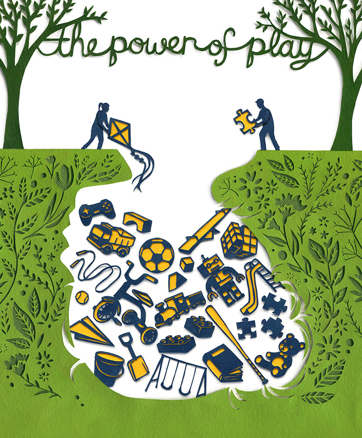 Today's Parent - The Power of Play (full page)